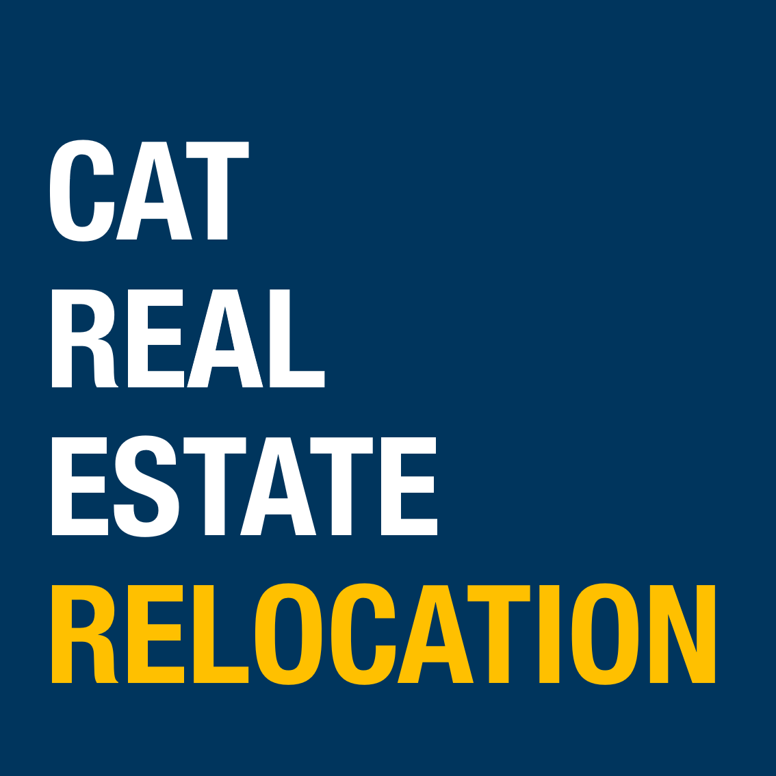 CAT REAL ESTATE RELOCATION